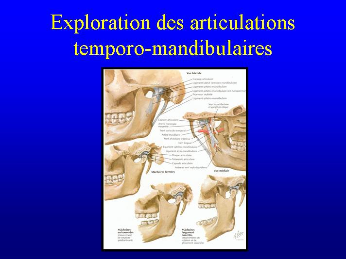 Exploration des articulations temporo-mandibulaires Atm10
