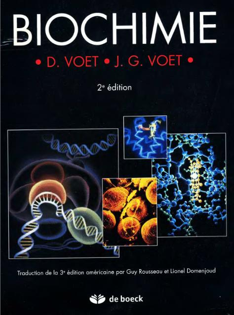 Biochimie Par Donald Voet,Judith G. Voet,Guy Rousseau  Sans_t56