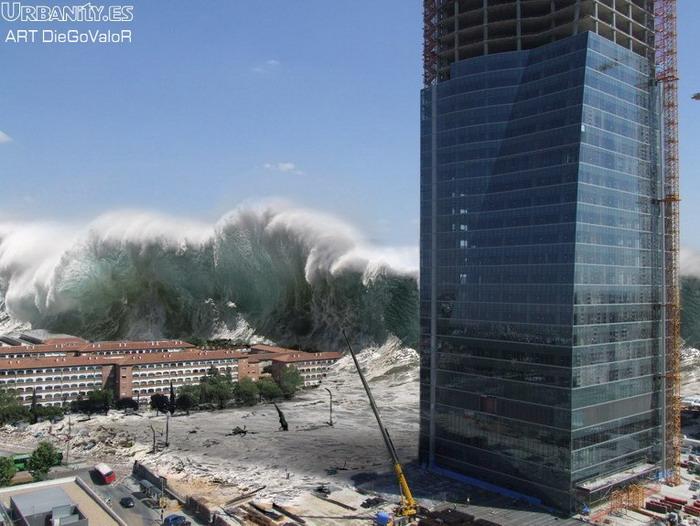 La madre naturaleza se defiende! Tsunam10