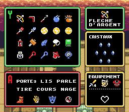 Je cherche un menu s'il vous plaît Zelda310