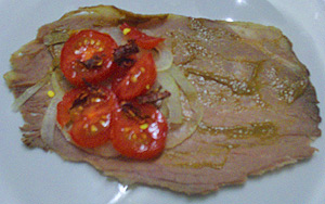 Dukan recipe - Spicy beef roll (snack) Dukan-14