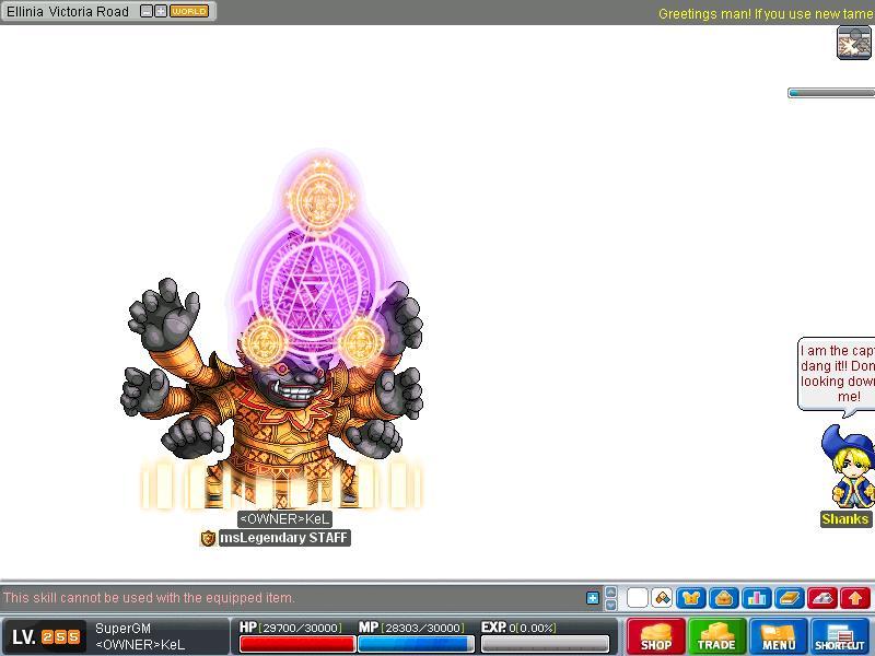 msLegendary new skills v80KoC Maple024