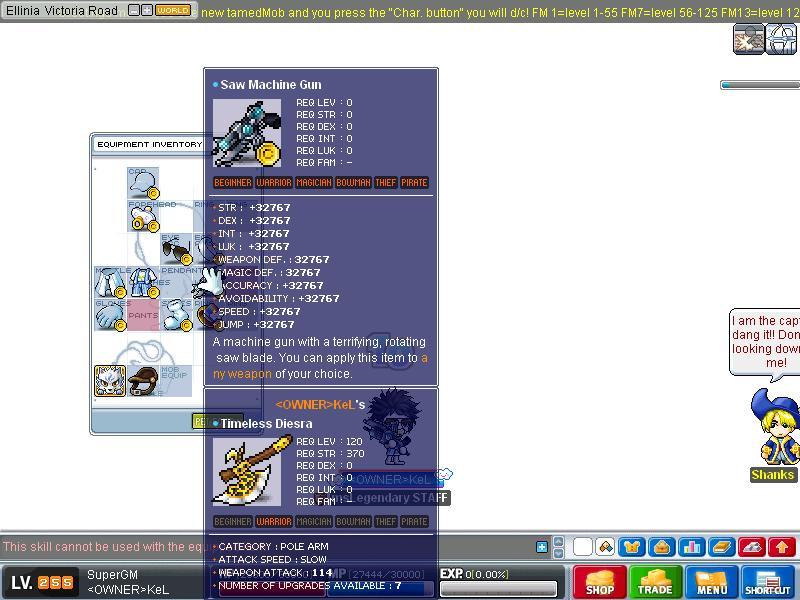msLegendary new skills v80KoC Maple031