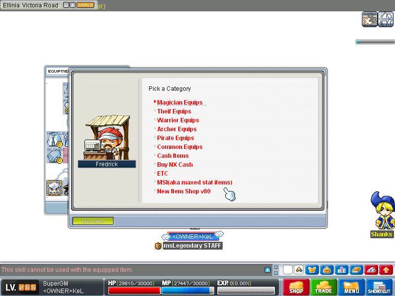 msLegendary new skills v80KoC Maple032