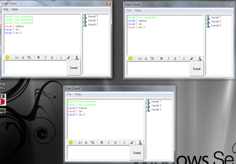 Source Code : Aplikasi Chat LAN Multi Client Dengan VB6 (Visual Basic 6) Chat310