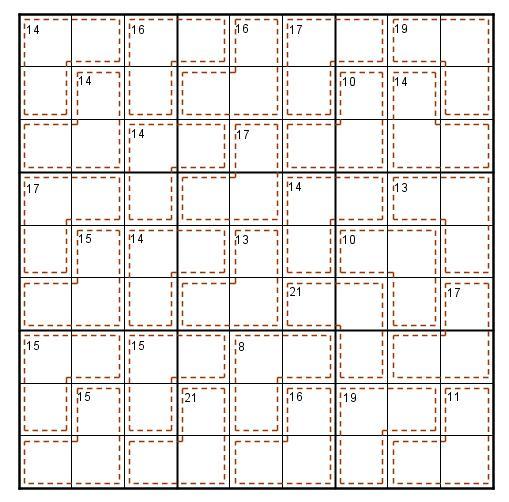 Killer monoforme Sudoku11