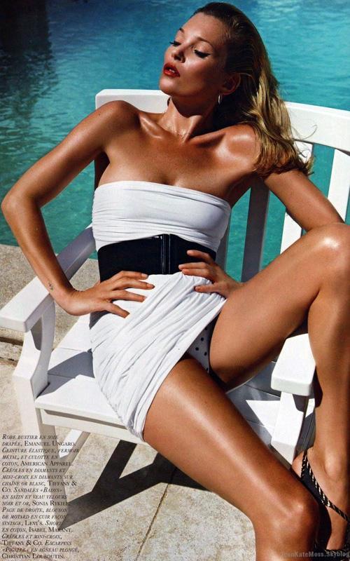 Kate Moss en la revista Vogue Francia Kate-m13