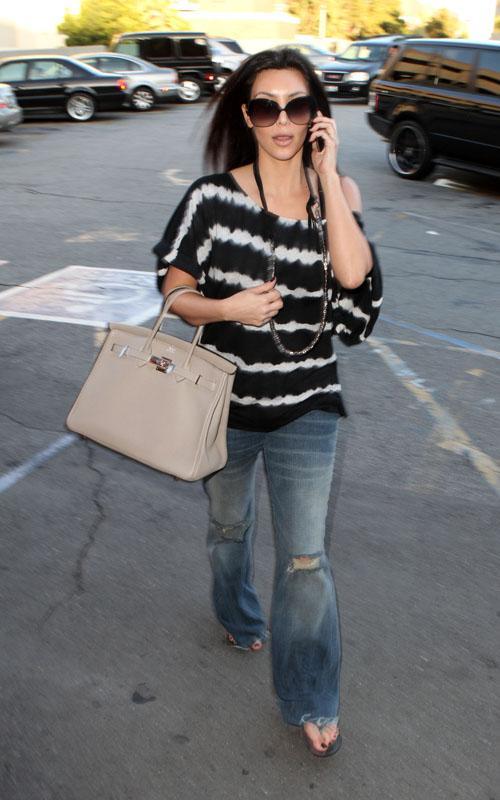 Kim Kardashian de compras por LA Kim-ad10