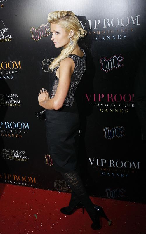 Paris Hilton en la fiesta VIP de Cannes Paris-18