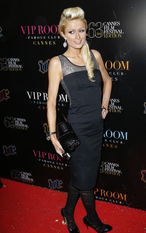 Paris Hilton en la fiesta VIP de Cannes Paris-19