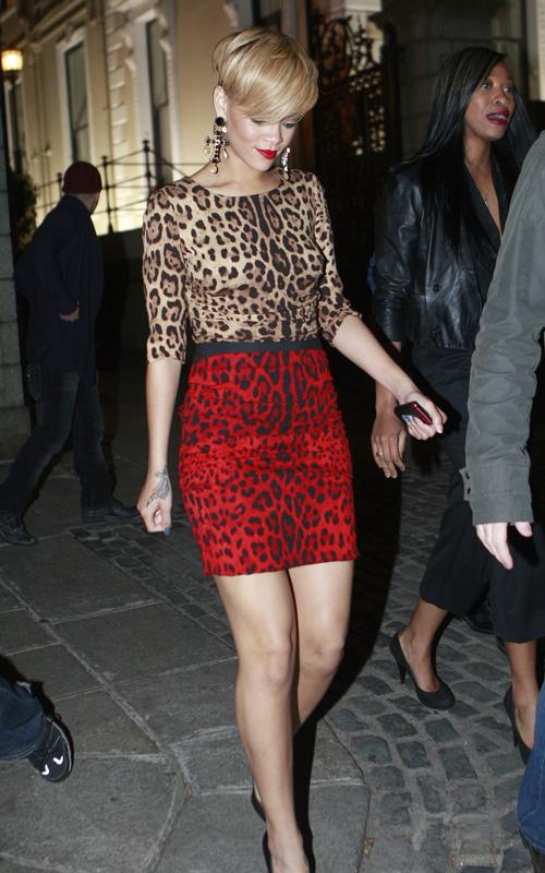 Rihanna de fiesta por Dublin Rihann19