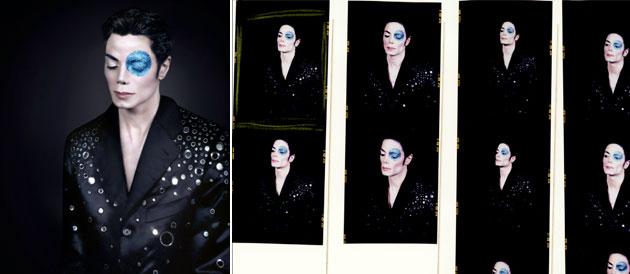 Foto inedite di Michael Jackson all'asta a Parigi Nasyc10