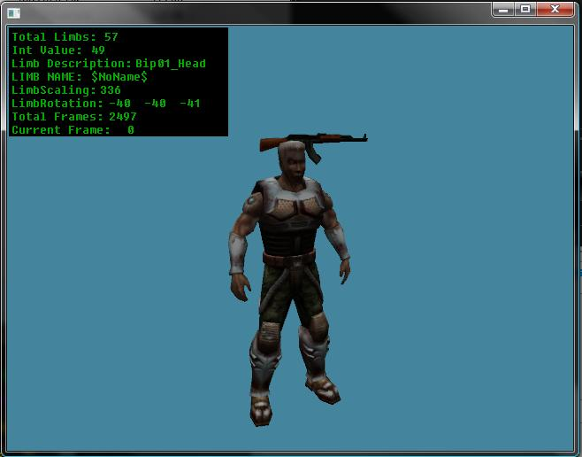 DirectX Limbs and Animations Code Ss11