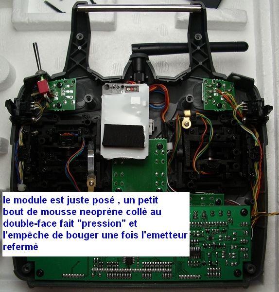 ESSAIE RADIO HITEC AVEC MODULE IFHss Optic611