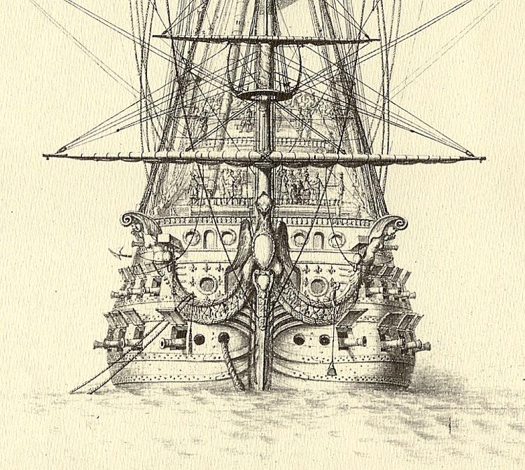 Soleil Royal 1669 Proue-10