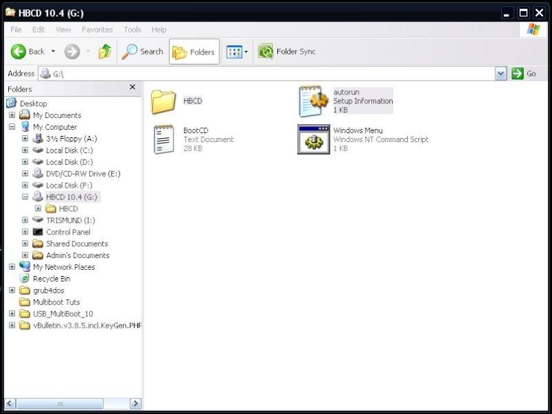 How to create a Multiboot USB with Windows XP + Hiren's BootCD 10.4 + Windows 7 Setup Hbcd_111
