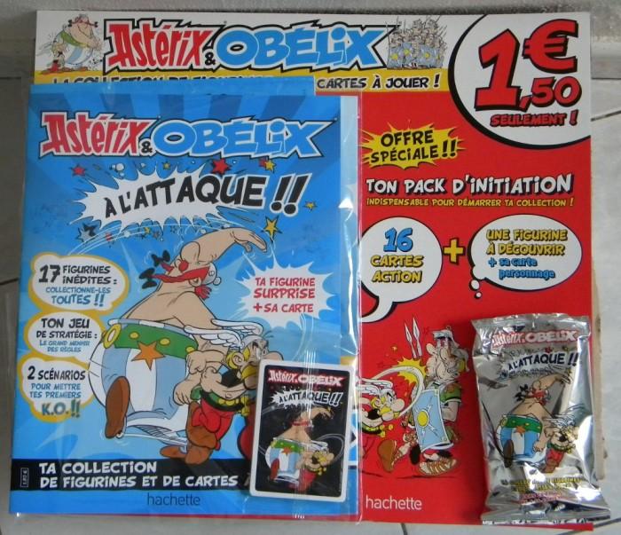 N°1 Astérix et Obélix cartes + figurines - Test hachette Cartes10