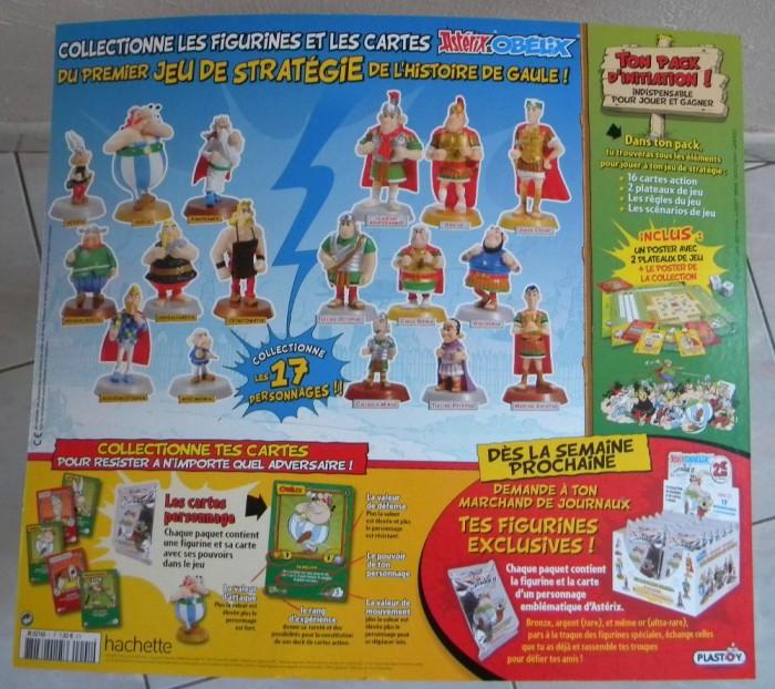 N°1 Astérix et Obélix cartes + figurines - Test hachette Cartes11