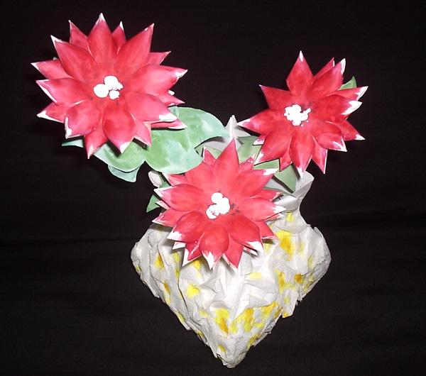 Бумажные цветы Cvetil10