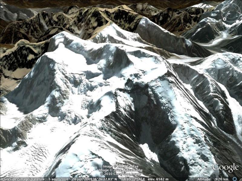 Les points culminants du monde vus avec Google Earth Afghan11