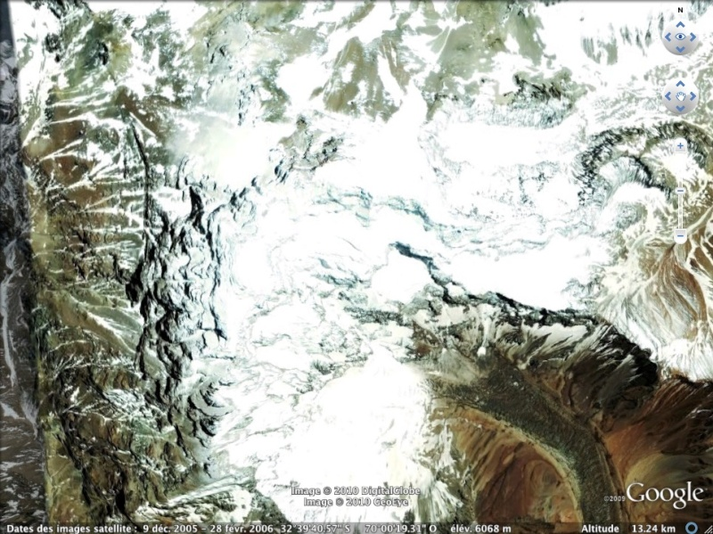 Les points culminants du monde vus avec Google Earth Argent10