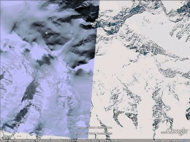 Les points culminants du monde vus avec Google Earth - Page 2 Canada10