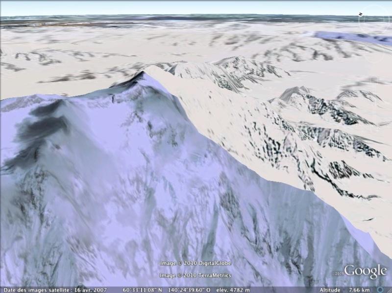 Les points culminants du monde vus avec Google Earth - Page 2 Canada11