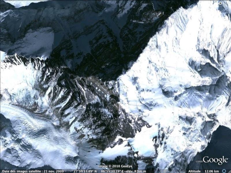 Les points culminants du monde vus avec Google Earth Chine_10