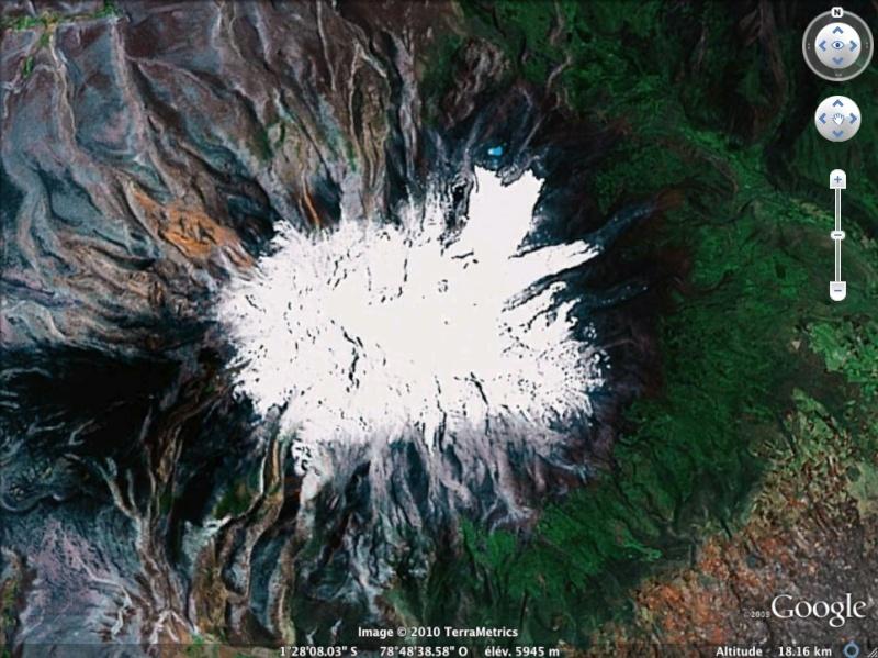Les points culminants du monde vus avec Google Earth - Page 2 Equate10