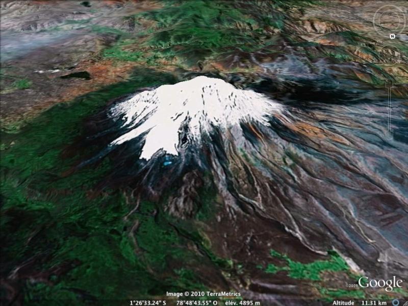 Les points culminants du monde vus avec Google Earth - Page 2 Equate11