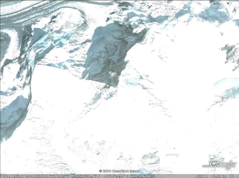 Les points culminants du monde vus avec Google Earth Kazakh10