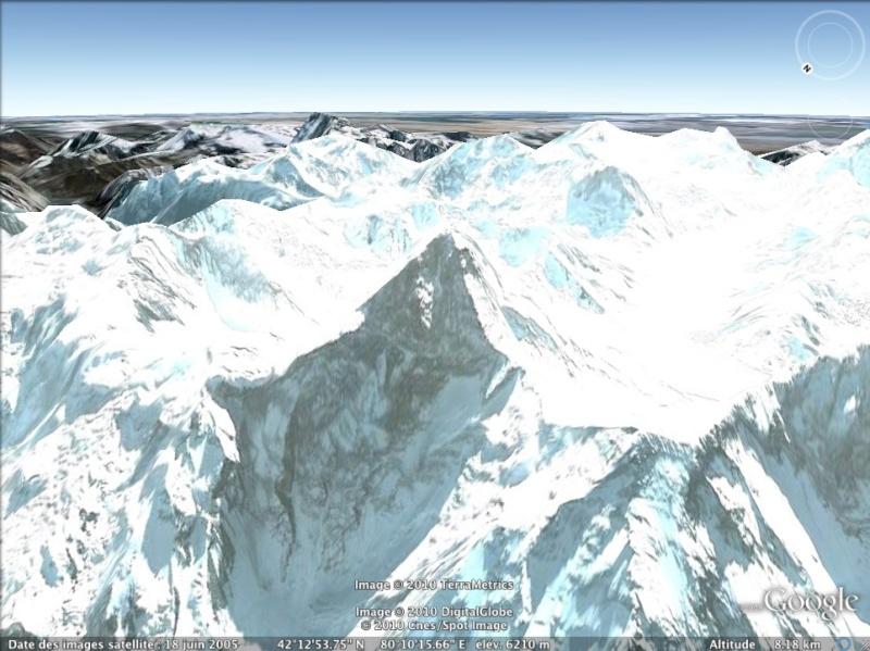 Les points culminants du monde vus avec Google Earth Kazakh11