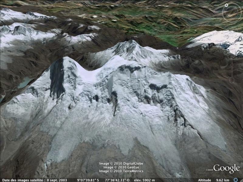 Les points culminants du monde vus avec Google Earth - Page 2 Parou_11