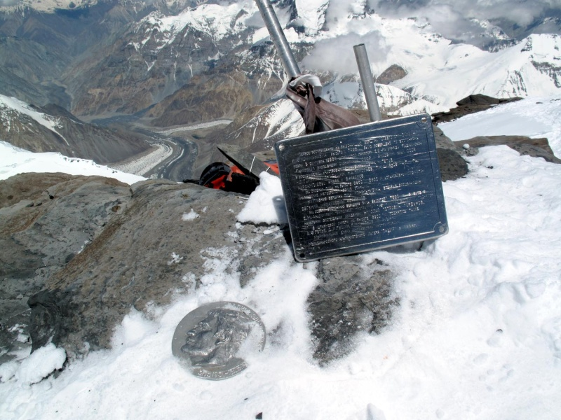 Les points culminants du monde vus avec Google Earth Tadjik12
