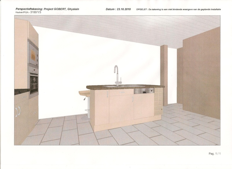 Conseil cuisine - maison neuve bientôt livrée 910