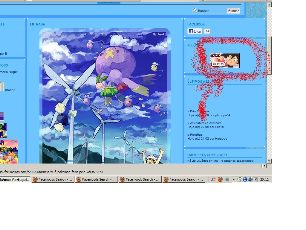 Relógio personalizado no portal Imagem19