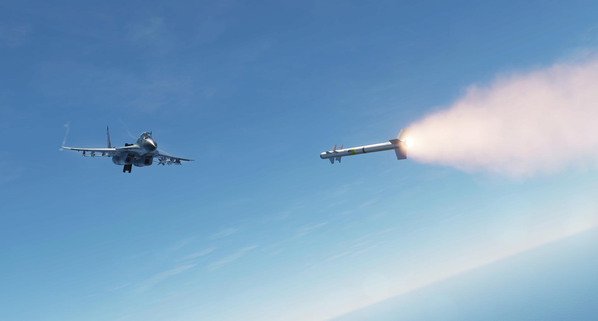 Mirage 2000 en BVR Screen13