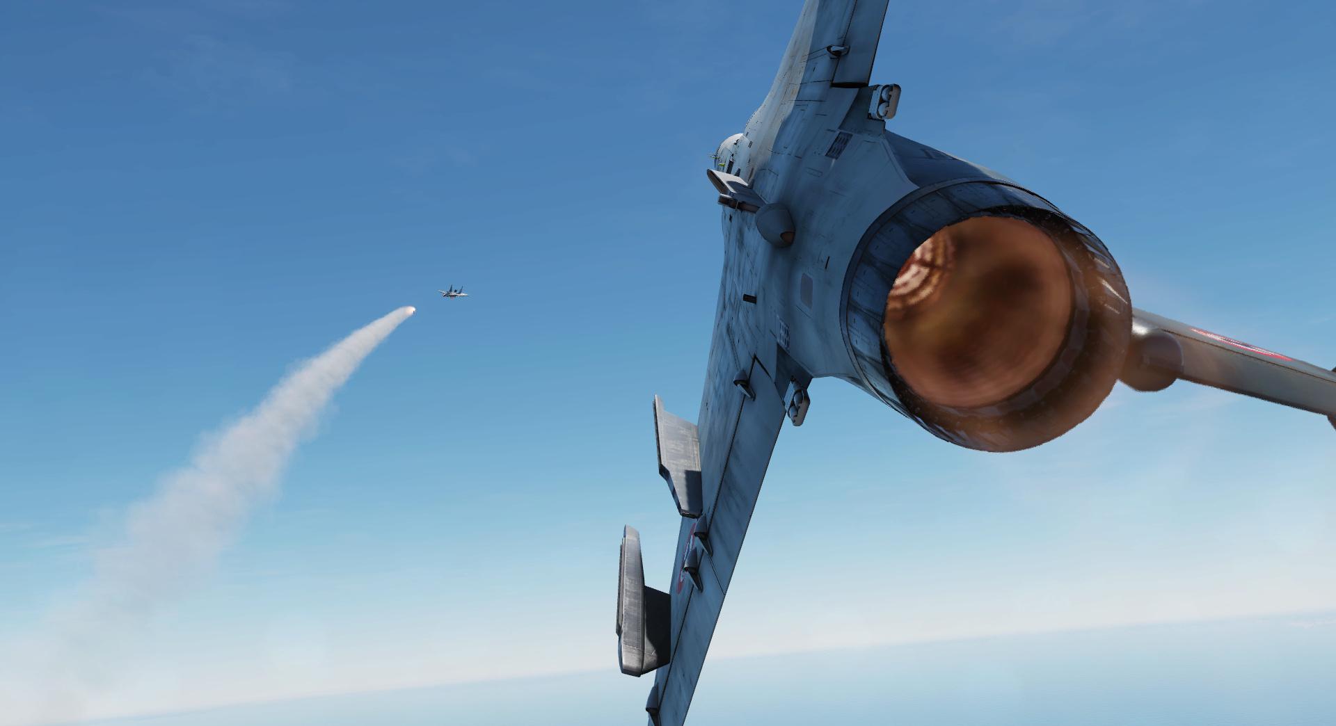 Mirage 2000 en BVR Screen14