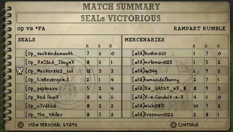 win against [*FA] Screen14