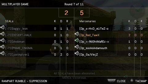 Win against [-73] Screen21
