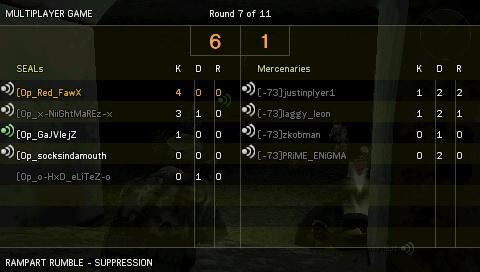 Win against [-73] Screen25