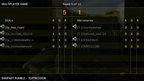 Win against [T.E] Screen28