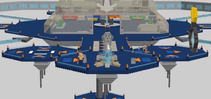 Space Station 5000 Lddscr16