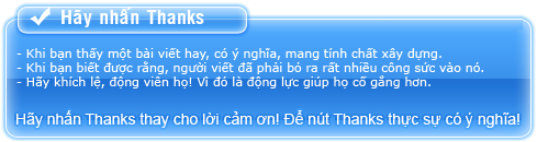 dằn mặt spam lung tung Thanks10