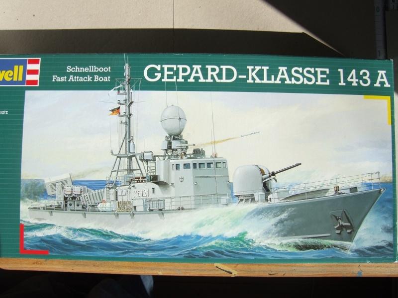 [Revell] Fast Attack Boat GEPARD-KLASSE (143A) 1/144 Dscf2410