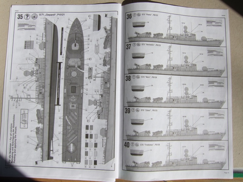 [Revell] Fast Attack Boat GEPARD-KLASSE (143A) 1/144 Dscf2524