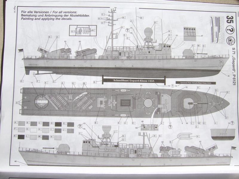 [Revell] Fast Attack Boat GEPARD-KLASSE (143A) 1/144 Dscf2526