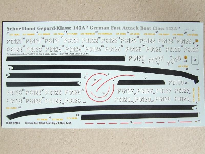 [Revell] Fast Attack Boat GEPARD-KLASSE (143A) 1/144 Dscf2527