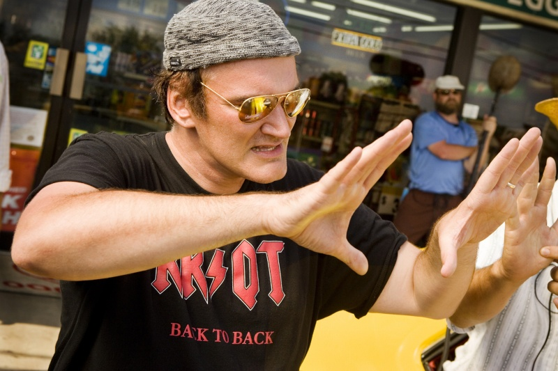 Quentin Tarantino - into his hands Tarant10