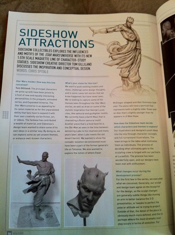 Nouvelle Gamme de Sideshow : Les Statues 08c58b10